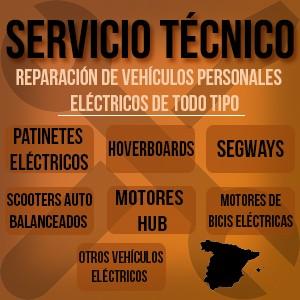 Donde reparar patinetes electricos