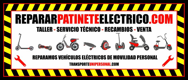 Reparar pinchazos de patinete eléctrico en Barcelona